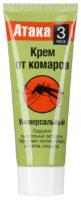 Атака универсальный крем от комаров 75 мл