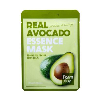Farm Stay REAL Avocado с эссенцией авокадо тканевая Маска для лица