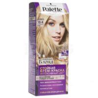 Palette 10-4 натуральный блонд крем-краска для волос