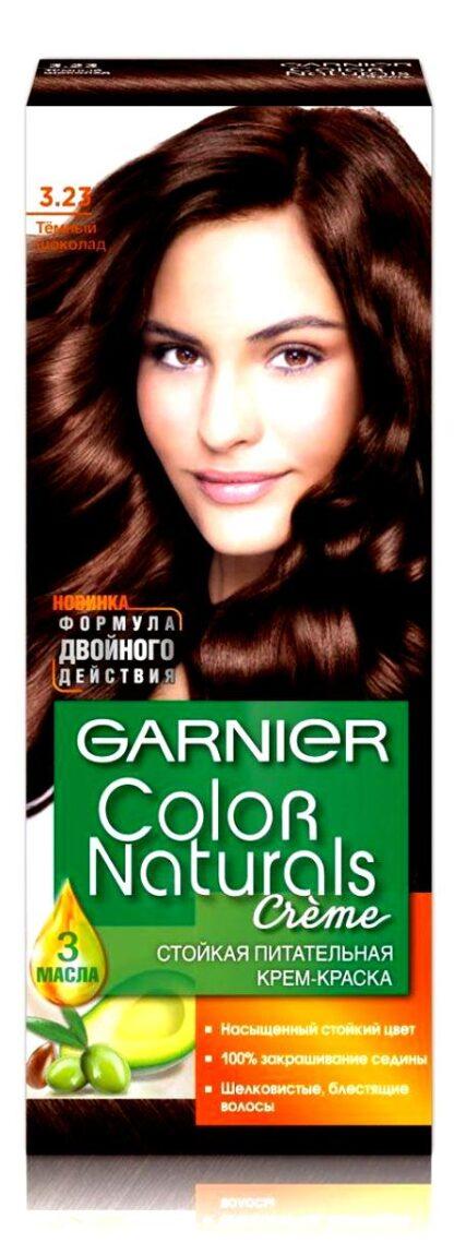 Garnier Color Naturals 3.23 темный шоколад крем-краска для волос