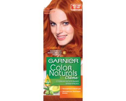 Garnier Color Naturals 7.40 пленительный медный крем-краска для волос