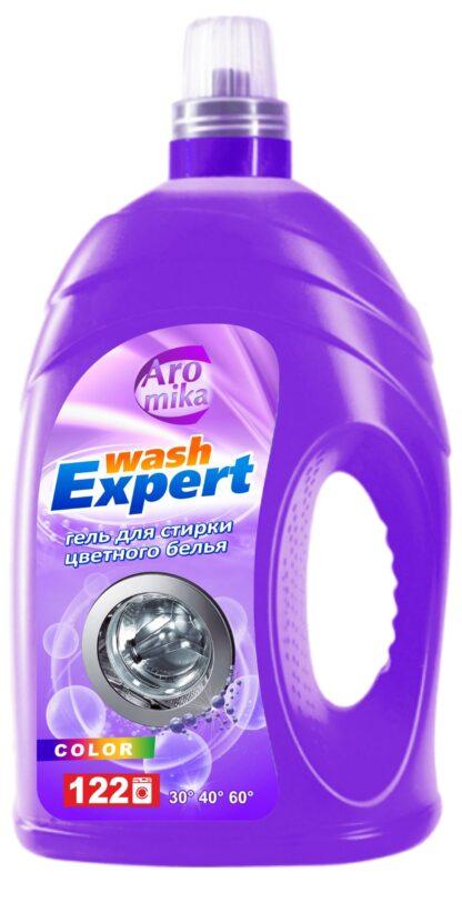 Aromika Wash Expert Color  гель для стирки 4300 мл