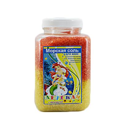 Aromika Детская с календулой Морская соль для ванны 900 г