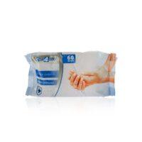 Spa4me Антибактериальные Влажные салфетки 60 шт