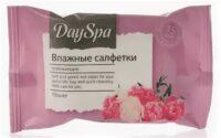 DAY SPA Flower Освежающие влажные Салфетки 15 шт