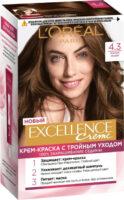 Loreal EXCELLENCE Creme 4.3 Золотой каштан Крем-краска для волос
