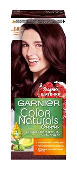 Garnier Color Naturals 3.61 сочная ежевика крем-краска для волос
