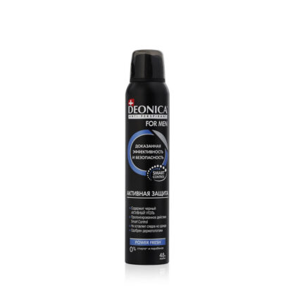 DEONICA MEN Активная защита спрей дезодорант 200 мл