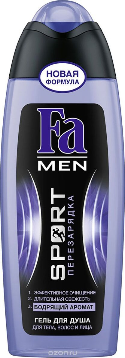 Fа men Sport перезарядка Гель для душа 250 мл