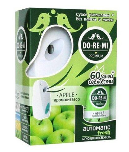 DO RE MI зелёное яблоко освежитель воздуха+автоматический деспенсер+2 батарейки комплект