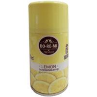 DO RE MI лимон сменный баллон для автоматического освежителя воздуха 250 мл