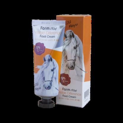 Farm Stay С жиром Лошади Увлажняющий Крем для ног 100 мл