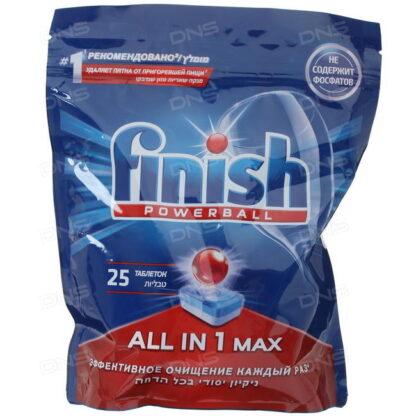FINISH Power Ball Таблетки для посудомоечных машин 25 шт