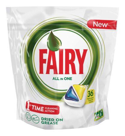 Fairy All in 1 Капсулы для посудомоечных машин 36 шт