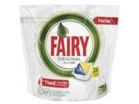 Fairy All in 1 Лимон Капсулы для авт посудомоечных машин 24 шт