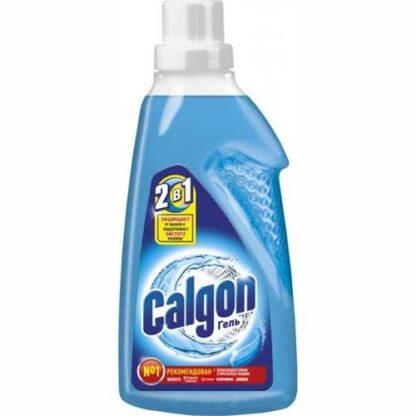 CALGON 2 в 1 защищает от накипи и поддерживает чистоту машины Гель 750 мл