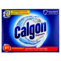 CALGON 2 в 1 Предотвращение накипи защита от грязи и запаха порошок 550 гр