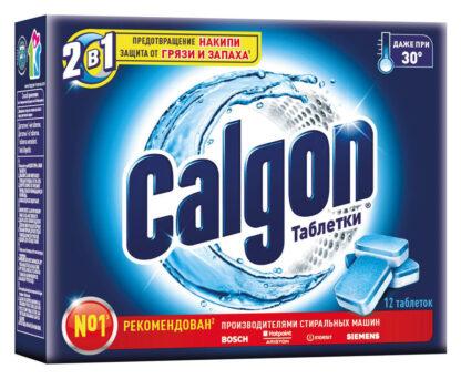 CALGON Таблетки для защиты от накипи 12 шт