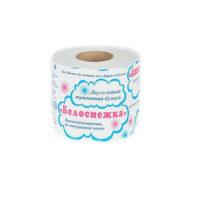 БЕЛОСНЕЖКА Туалетная бумага 1 рул