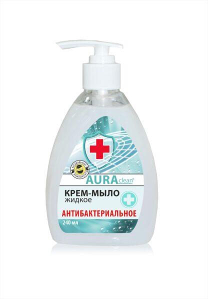 AURAclean антибактериальное жидкое крем-мыло 240 мл