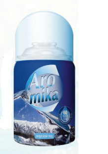 Aromika Морской лед сменный баллон для автоматического освежителя воздуха 260 мл