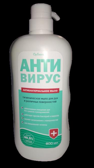 Aromika Антивирус Анбитактериальное жидкое мыло 800 мл