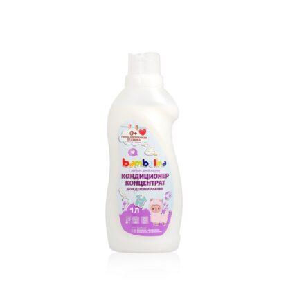 Bambolina для детского белья 0 + кондиционер концентрат 1 л