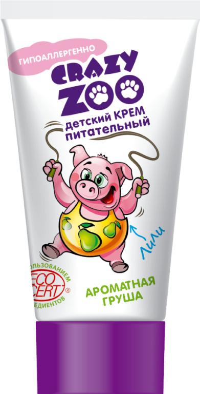 Crezy zoo Ароматная груша Крем Детский питательный 45 гр