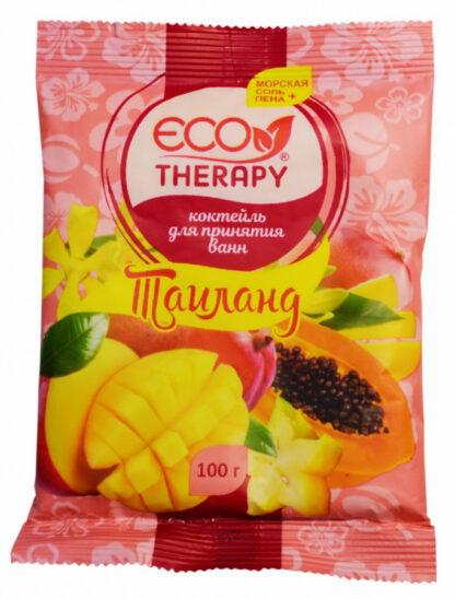 Eco Therapy Тайланд морская соль + пена коктейль для принятия ванн 100 г