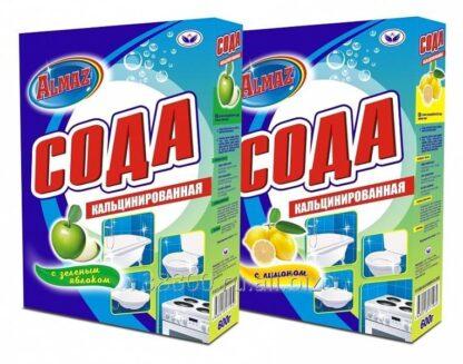 Almaz Лимон СОДА кальцинированная 600 ГР