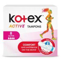 Kotex Activ super Тампоны 8 шт