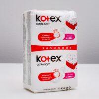 Kotex Ultra soft super Прокладки 16 шт