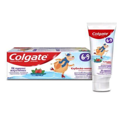 Colgate Клубника-мята 6-9 лет детская Зубная паста 60 мл