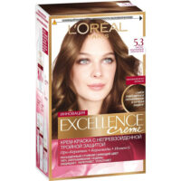 Loreal EXCELLENCE Creme 5.3 Светло-каштановый золотистый Крем-краска для волос