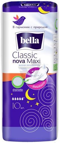 Bella Classic nova maxi drainette прокладки 10 шт
