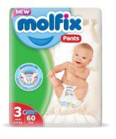 MOLFIX трусики 3 (4 - 9 кг) 60 шт