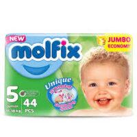 MOLFIX подгузники 5 (11 - 18 кг) 44 шт