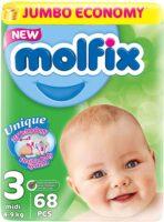 MOLFIX подгузники 3 (4 - 9 кг) 68 шт