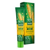 Чистая линия интенсивный питательный для сухой кожи ночной крем для лица 40 мл