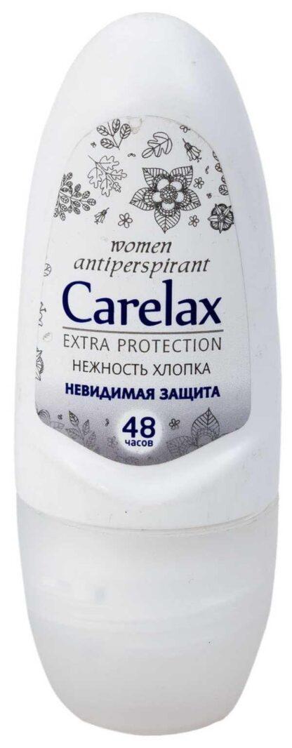 Carelax for women Невидимая защита Нежность хлопка Дезодорант ролик 50 мл