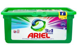 ARIEL Color средство жидкое в растворимых капсулах для стирки белья 30 шт