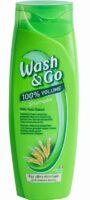 Wash&Go With Yeast Extract для тонких  волос шампунь 400 мл