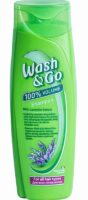 Wash&Go With Lavander Extract для всех типов волос Шампунь 400 мл