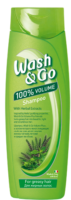 Wash&Go With Herbal Extracts для жирных волос Шампунь 400 мл