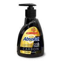 Absolut PRO series уголь + серебро жидкое Мыло 250 гр