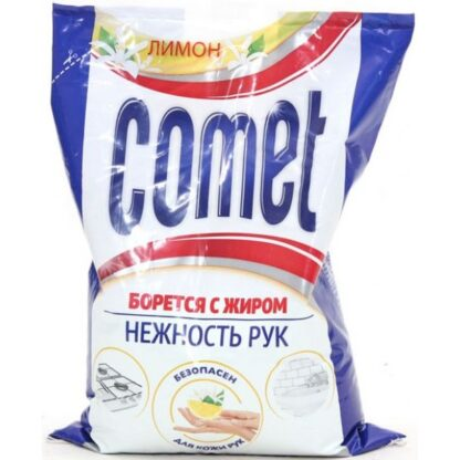 Comet Лимон без хлоринола Универсальный чистящий порошок 350 гр
