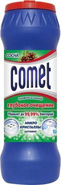 Comet сосна Двойной эффект Универсальный чистящий порошок 475 гр