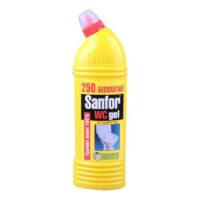 Sanfor гель Лимонная свежесть санитарно-гигиеническое средство 750 г