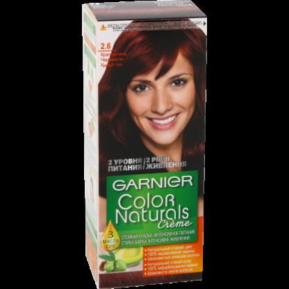 Garnier Color Naturals 2.6 красная ночь крем-краска для волос