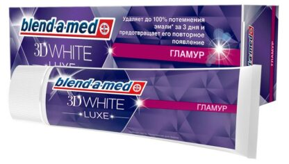Blend a med 3D WHIDE LUXE Гламур Зубная паста 75 мл